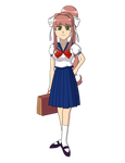 Comm: Azumanga Sailor Fuku Monika by sergeant16bit
