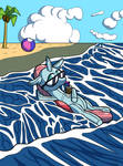 Comm: Inflatable Pool Toy Ocellus by sergeant16bit