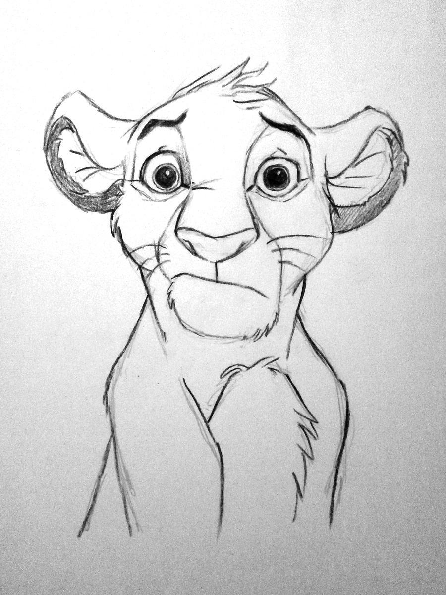 Uncategorized Lion King Sketch lion king simba by pikkolapungu on deviantart pikkolapungu