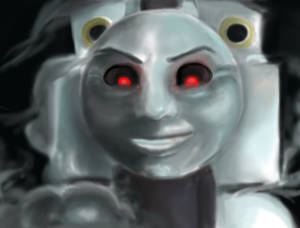 Timothy the ghost engine (Magica Pungu)