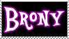 Brony stamp by danspy1994