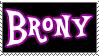 Brony stamp by danspy1994
