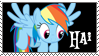 Rainbow Dash Hai by danspy1994