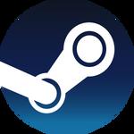 New Steam icon vector