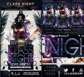 CLASS NIGHT FLYER by ultimateboss