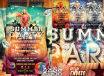 party summer psd