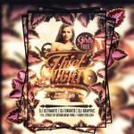 Thief night flyer template