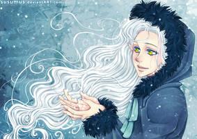 Liryeen and Snow~ by susumus