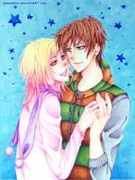 Jasper and Jun - Blue Stars by susumus