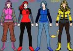 RWBY OCs: Team SLTE