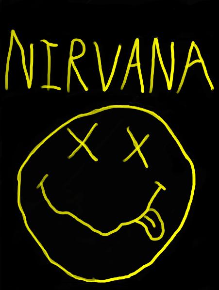 Nirvana Band Logo Wallpaper