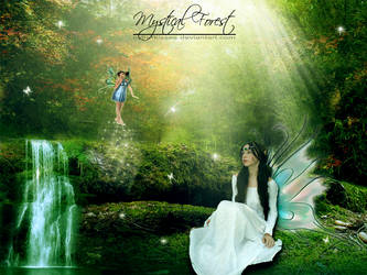Mystical Forest by cyberkisses