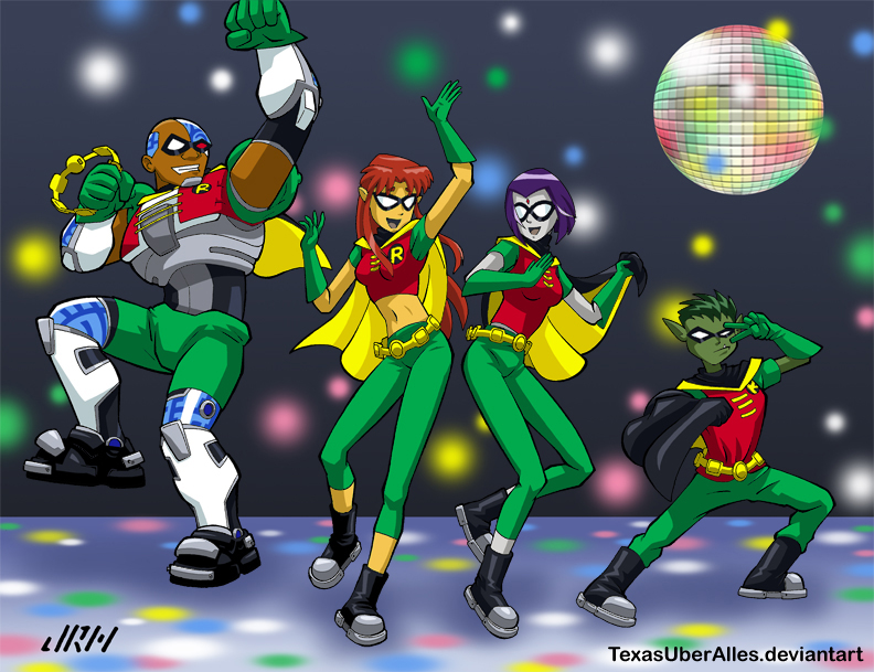 Quickly, Robin! To The Dance Floor! by TexasUberAlles