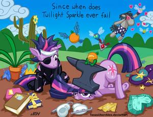 Since When Does Twilight Sparkle Ever Fail