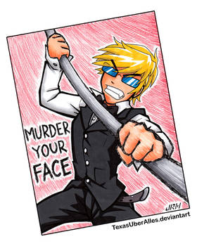 MURDER YOUR FACE