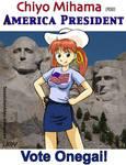 Chiyo Mihama For America President