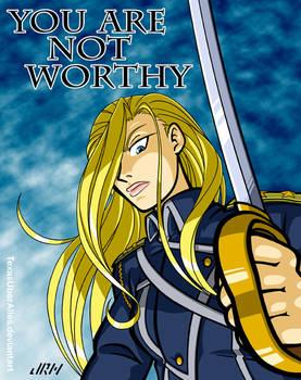 Not Worthy