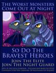 Night Guard Recruitment Poster