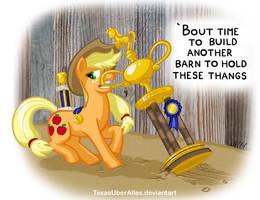 Prize Winnin' Pony by TexasUberAlles