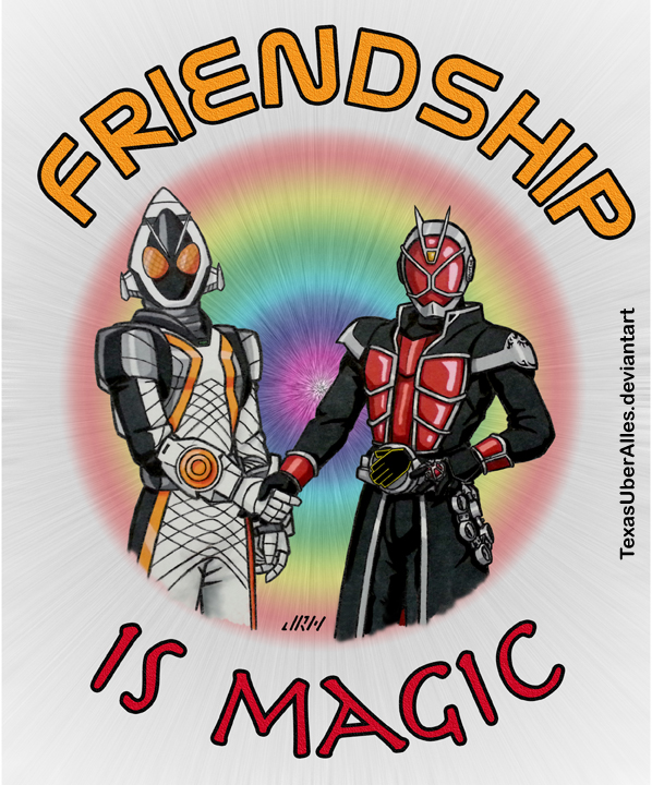 Friendship Is Magic by TexasUberAlles