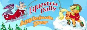 Equestria Daily AJ Day 2015 Banner Submission