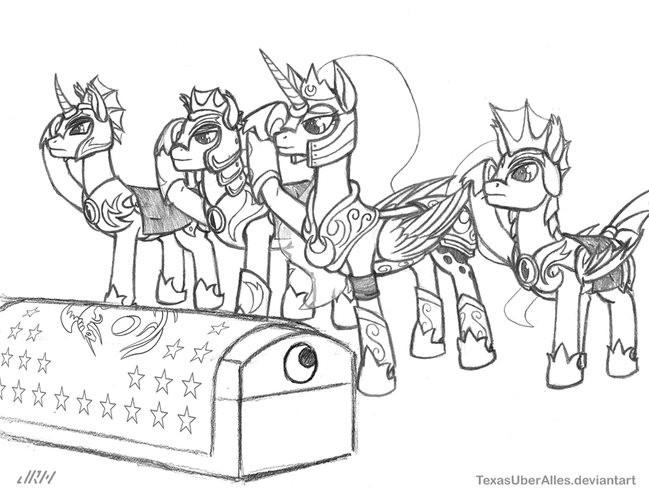 End Of Watch (sketch) by TexasUberAlles
