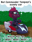 Commander Tempest's Scooty Car