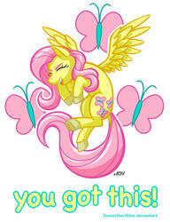 You Got This! Fluttershy by TexasUberAlles