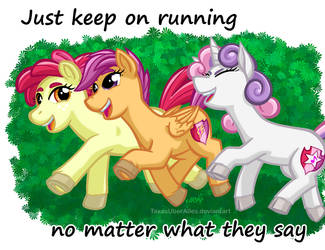 Keep On Running by TexasUberAlles