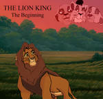 The Lion King The Beginning Official Cover