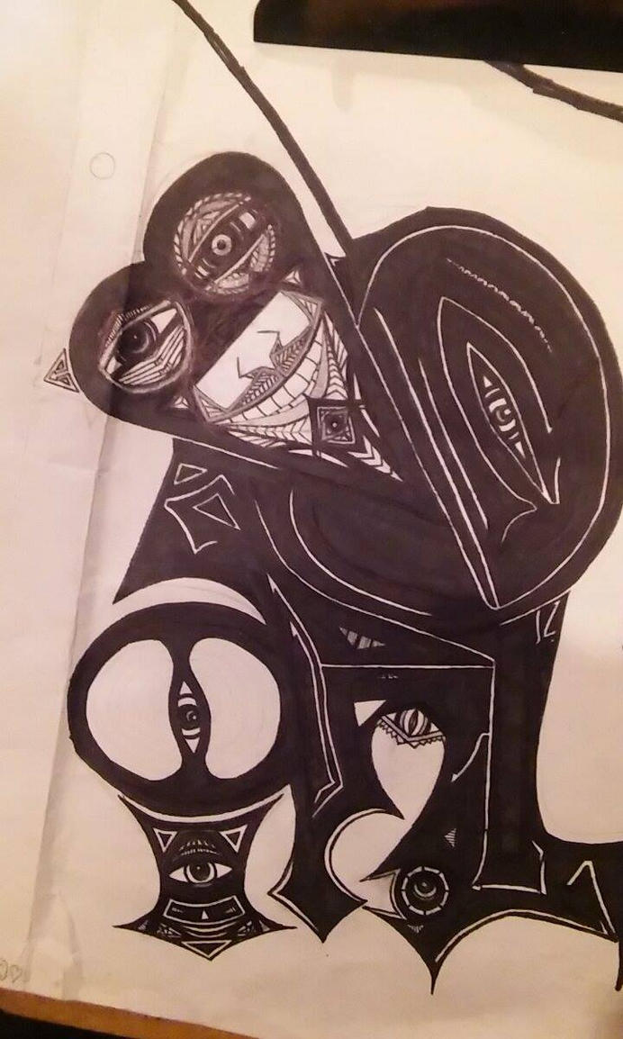 Oculus (Wacky Doodle) by Maximilian-Aurea
