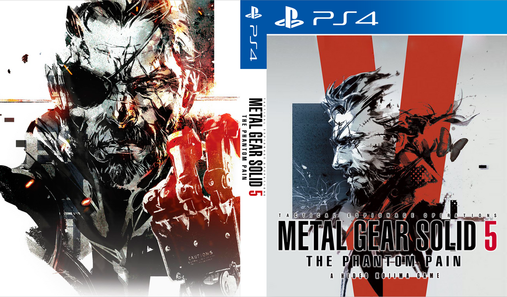 metal gear solid 5 custom cover art ver 3 by shonasof