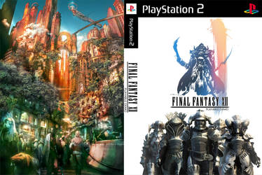 Final Fantasy XII Demo Custom Cover by shonasof