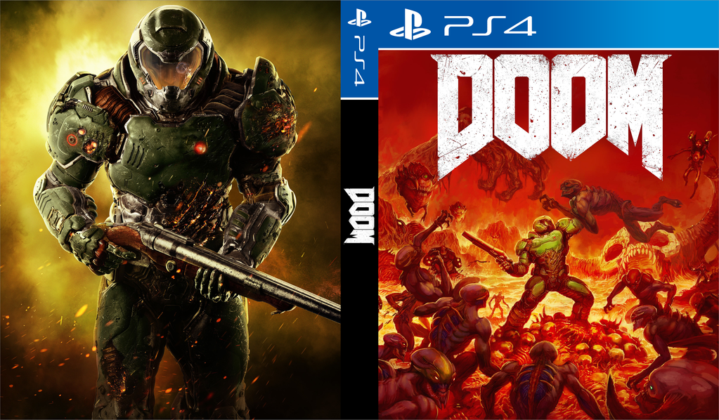 Doom Custom Cover Design By Shonasof On Deviantart