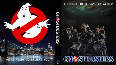 Ghostbusters (1984) Custom Bluray Cover by shonasof