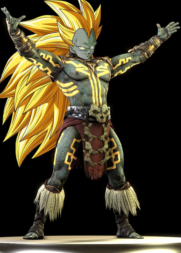 The Sun God of all Saiyans by shonasof