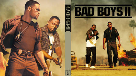 Bad Boys 2 - Custom Bluray Cover by shonasof