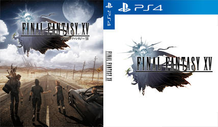 Final Fantasy XV Custom Cover by shonasof