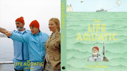 The Life Aquatic - Custom Blu Ray Cover by shonasof