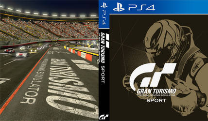 Gran Turismo Sport (Gold) - PS4 Custom Cover by shonasof