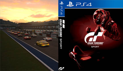 Gran Turismo Sport (Red) - PS4 Custom Cover by shonasof
