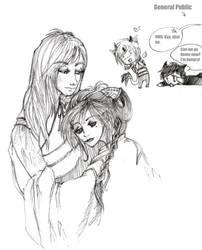 Hotohori and Nuriko by dragonfire6787