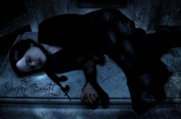 Sleeping Beauty- Wednesday A. by Bellatrix-666