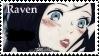 Raven stamp by Bellatrix-666