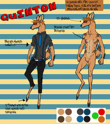 Hey look, I made a fursona... sort of by Naked-toes