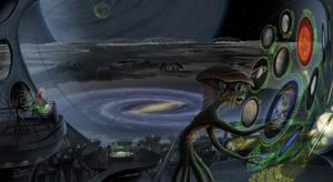 Alien Telescope by JonHrubesch