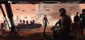 Mars Spaceport
