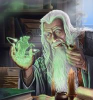 Wizard Magic by JonHrubesch