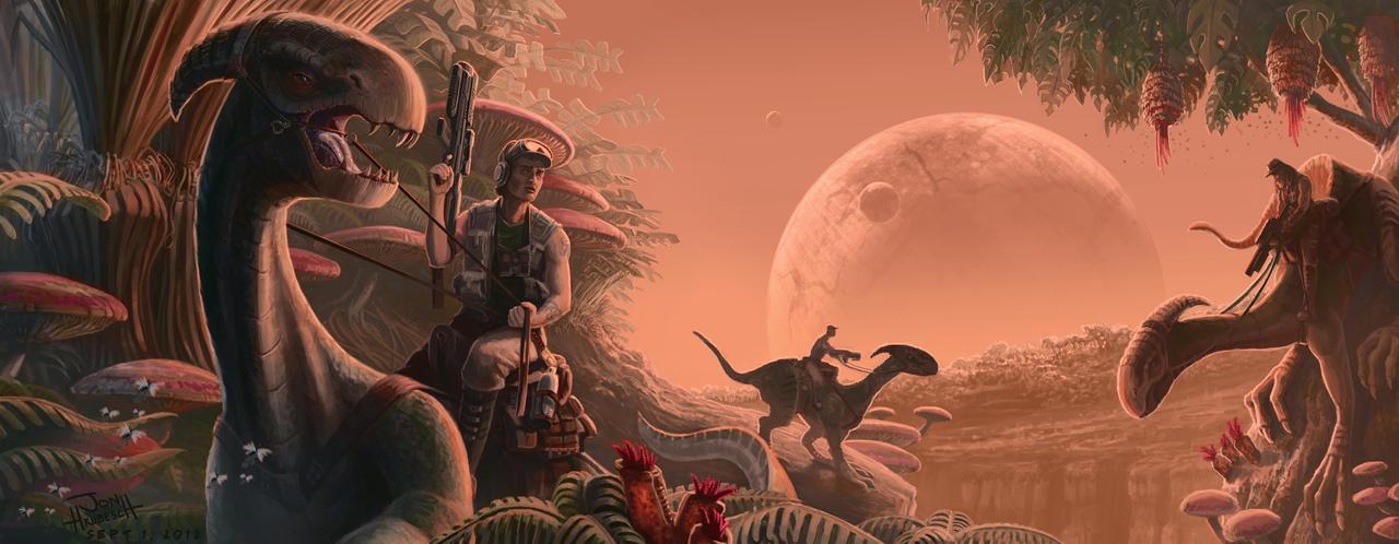 The Hunt by JonHrubesch