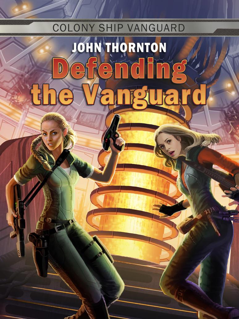 Defending the Vanguard by JonHrubesch